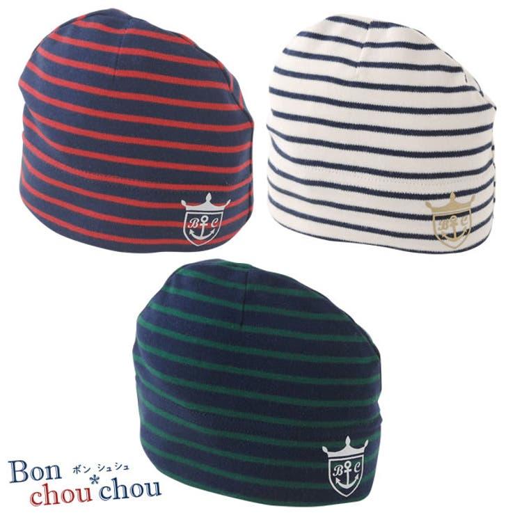 *ボンシュシュ*ボーダー帽子新生児 帽子 赤ちゃん   chuckleBABY   詳細画像1