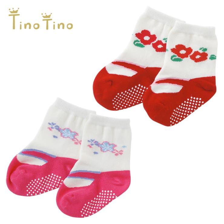 *ティノティノ*女の子足袋風ソックス赤ちゃん 服 ベビー服   chuckleBABY   詳細画像1