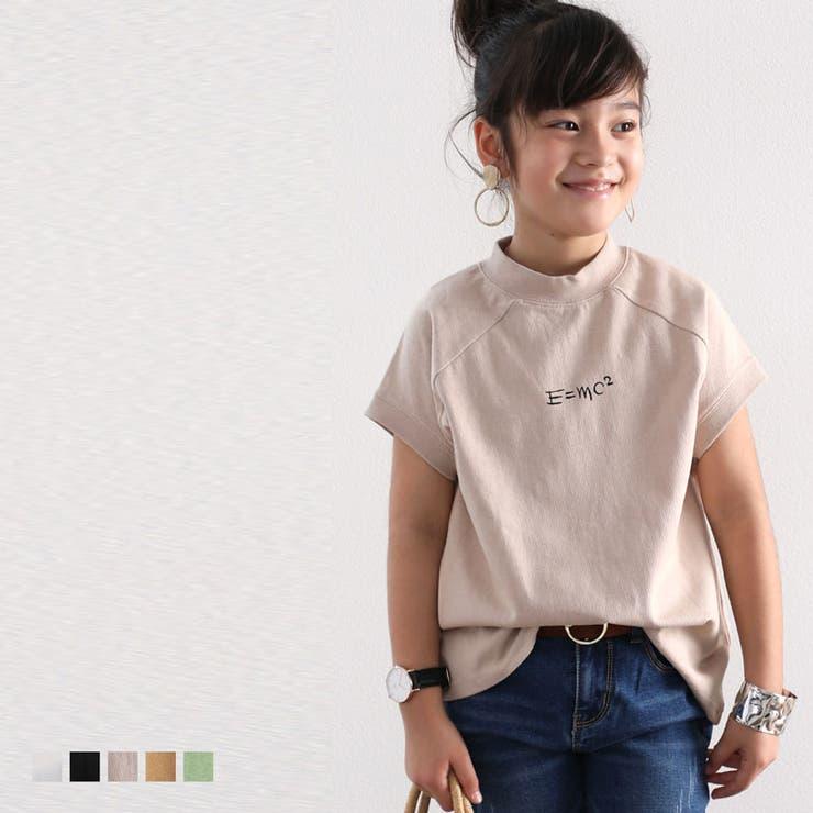 フレンチラグラン フロントプリントTシャツ トップス   Classical Elf kids   詳細画像1
