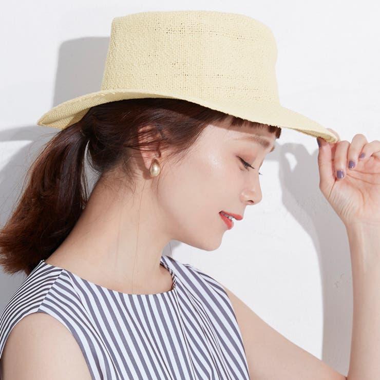 山野ゆりさんハットUV対策紫外線対策日焼け対策ぼうし日よけ夏ビーチリゾートコカCOCAcocaCOCAcoca   詳細画像