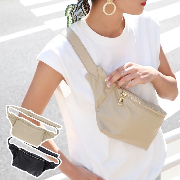かばんカバン鞄ミニバッグポシェットウエストバッグヒップバッグメッセンジャーバッグ斜め掛けユニセックス合皮コカCOCAcocaCOCAcoca | 詳細画像