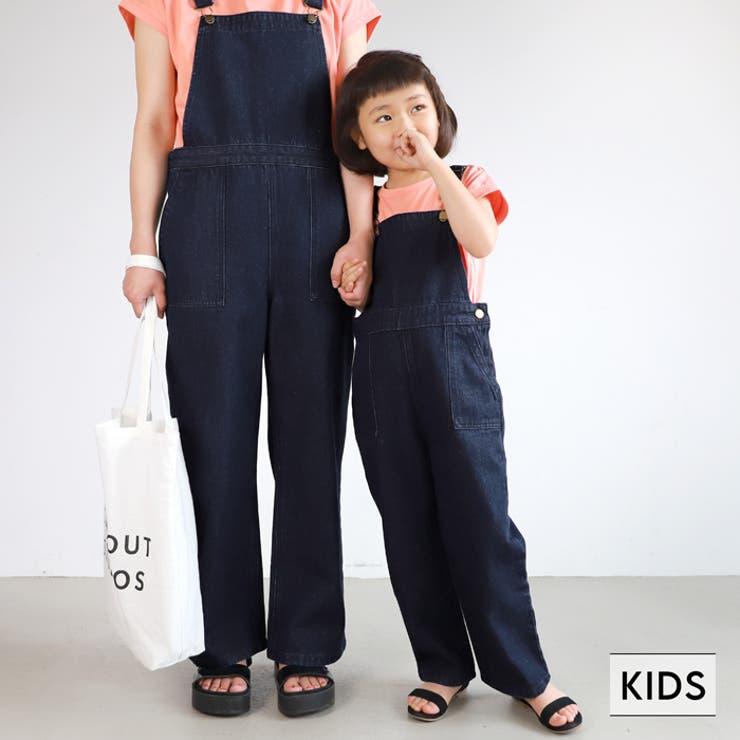 子供服 ベイカーサロペット デニム | coca | 詳細画像1