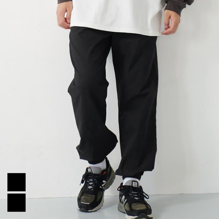 メンズ リラックスジョガーパンツ   coca   詳細画像1