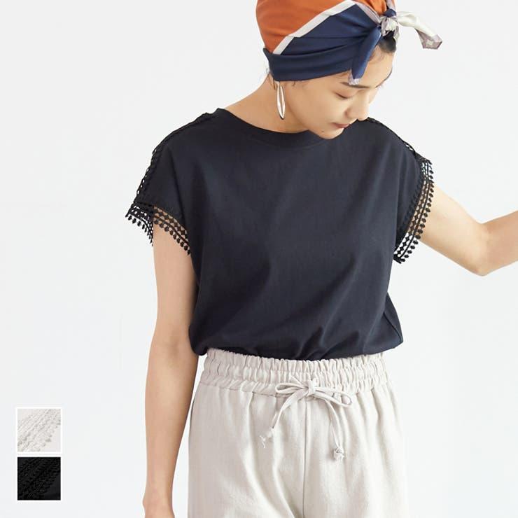 カットソー レディース Tシャツ | coca | 詳細画像1
