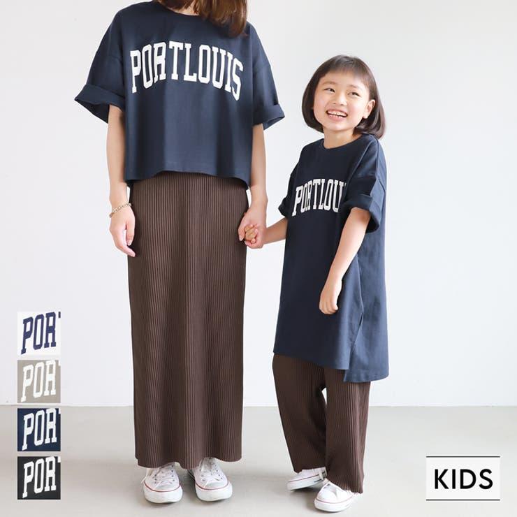 子供服 カレッジチュニック ヘビーウェイト | coca | 詳細画像1