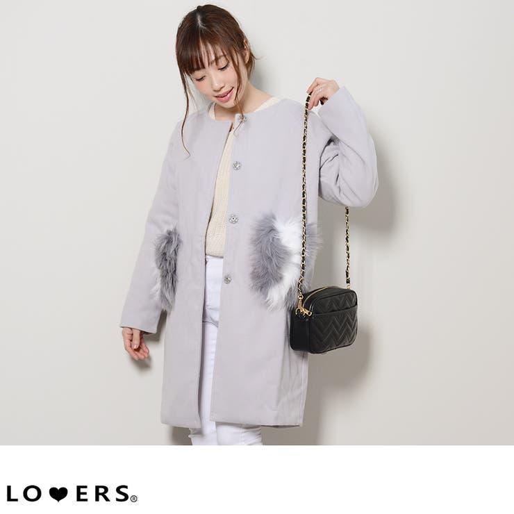 LOVERSのアウター(コート・ジャケットなど)/ハーフコート   詳細画像