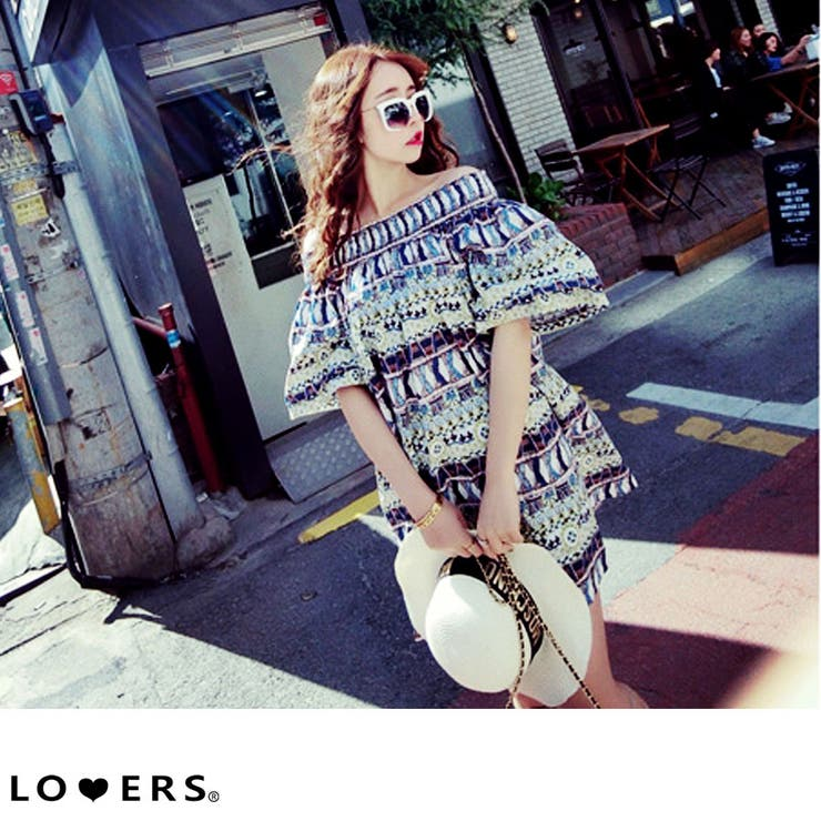 LOVERSのワンピース・ドレス/ベアワンピース | 詳細画像