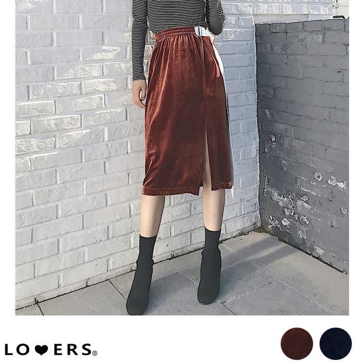 LOVERSのスカート/ひざ丈スカート   詳細画像