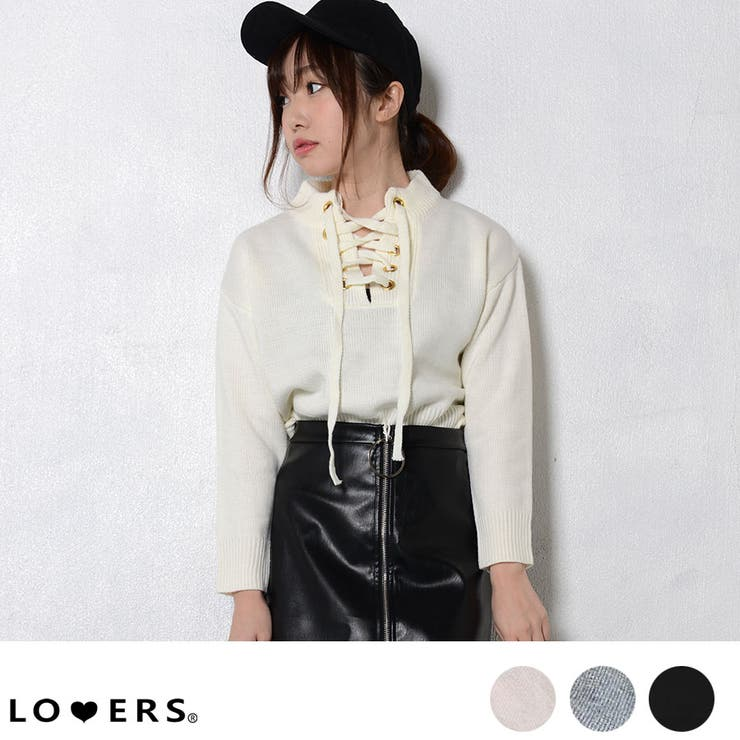 LOVERSのトップス/ニット・セーター   詳細画像
