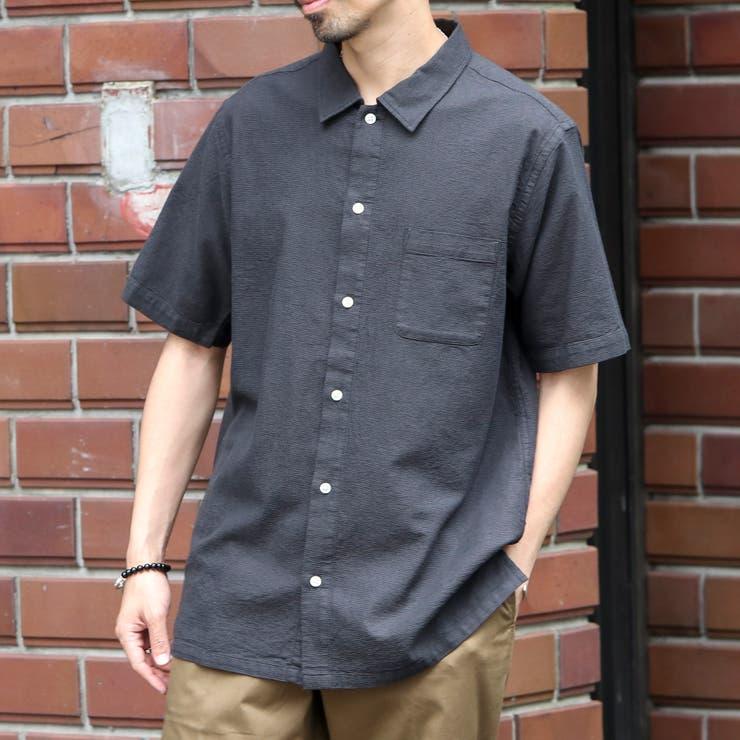 パナマレギュラーカラーシャツ   coen OUTLET   詳細画像1