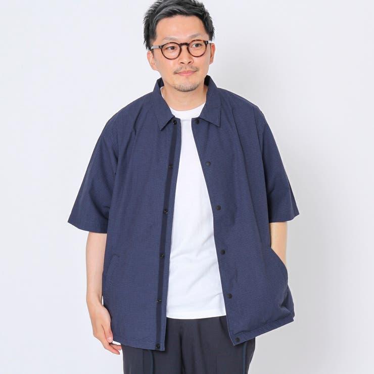 半袖コーチシャツジャケット | coen OUTLET | 詳細画像1