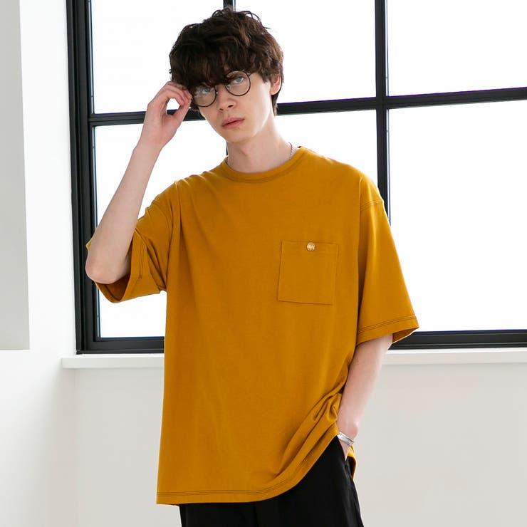 起毛天竺ポケットTシャツ   coen【men】   詳細画像1