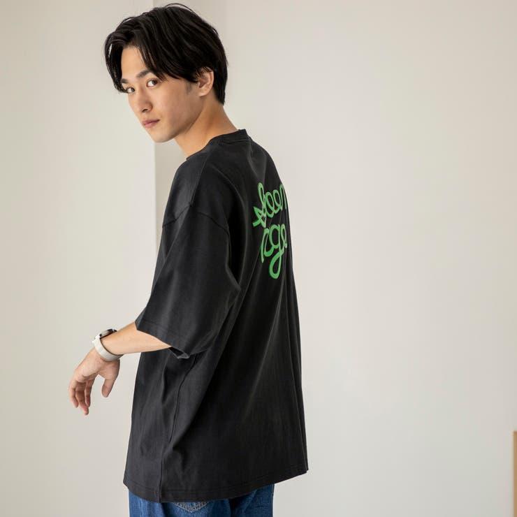 ロゴバックプリントハーフスリーブTシャツ | coen【men】 | 詳細画像1