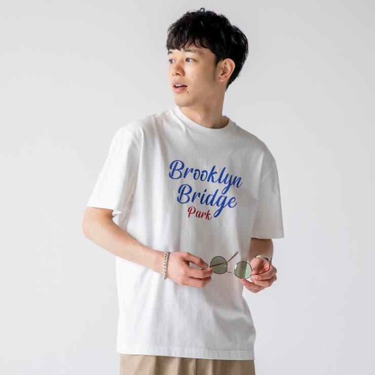 レタードプリントTシャツ   coen【men】   詳細画像1