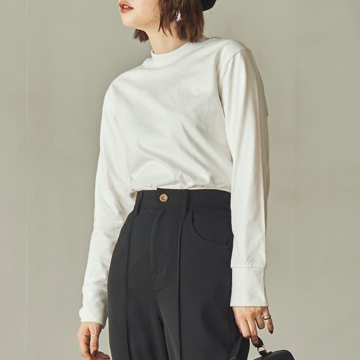 ピーチプチハイネックロングスリーブTシャツ | coen【women】 | 詳細画像1