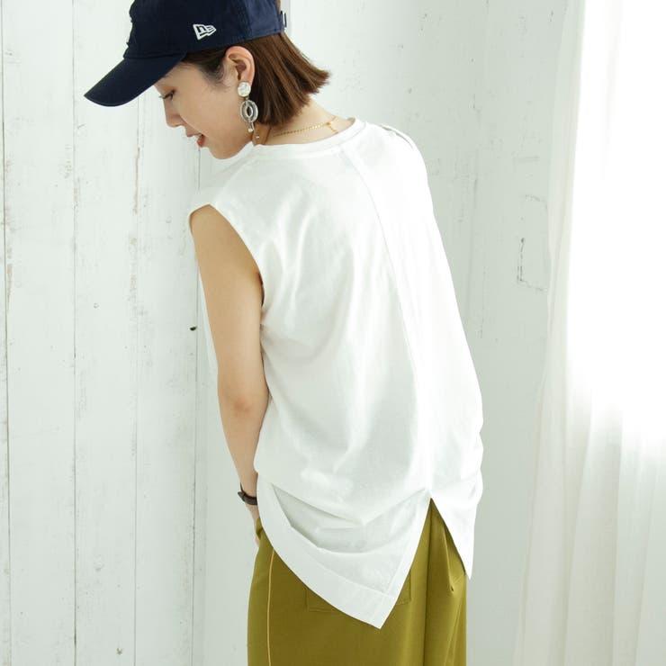 レディライクノースリーブTシャツ   coen【women】   詳細画像1