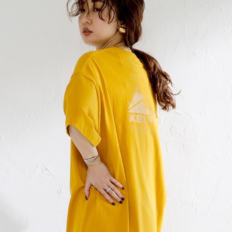 KELTY別注トリプルサンカクバックプリントTシャツ#   coen【women】   詳細画像1
