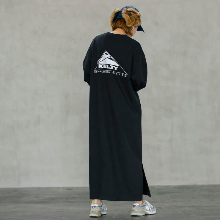KELTY(ケルティ)別注裏毛マキシワンピース | coen【women】 | 詳細画像1