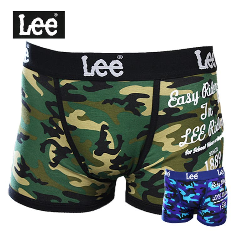 【Lee】ボクサーパンツ 迷彩 前閉じタイプ