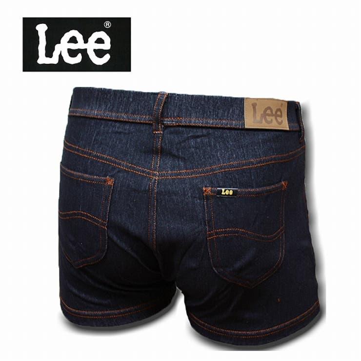 Lee デニムボクサーパンツ デニム 090:ブラック 前開き | COMPLETE | 詳細画像1