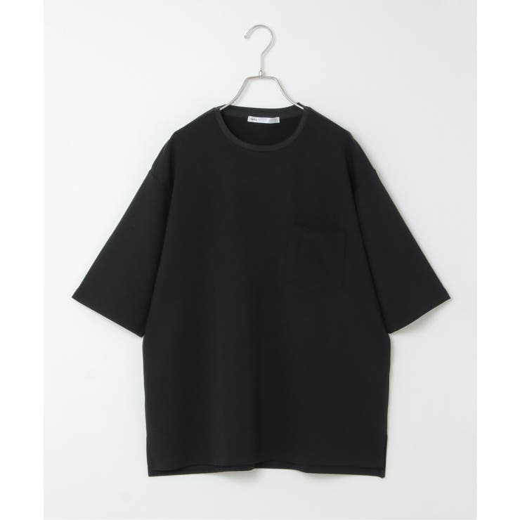 TRポンチタックリブTシャツ | ikka  | 詳細画像1