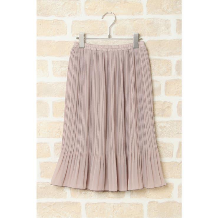 【キッズ】消しプリーツスカート(120~160cm) | ikka  | 詳細画像1