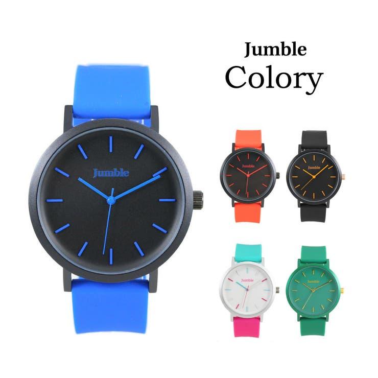 Jumble ジャンブル Colory カラリー 時計 ユニセックス