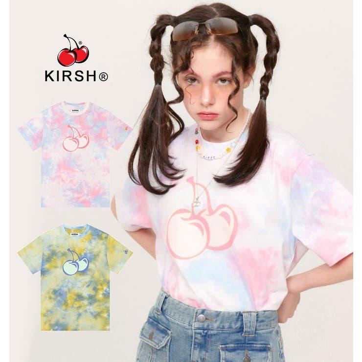 KIRSH(キルシー)TIEDYEHEATSENSINGT-SHIRTKH/タイダイヒートセンシング半袖Tシャツ/PINK(ピンク)/PIA   詳細画像