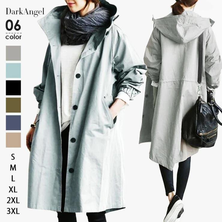 韓国ファッション スプリングコート レディース | DarkAngel | 詳細画像1