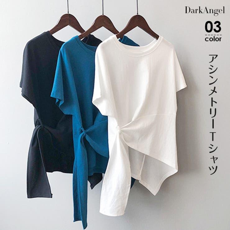 韓国ファッション Tシャツ 棉100%   DarkAngel   詳細画像1