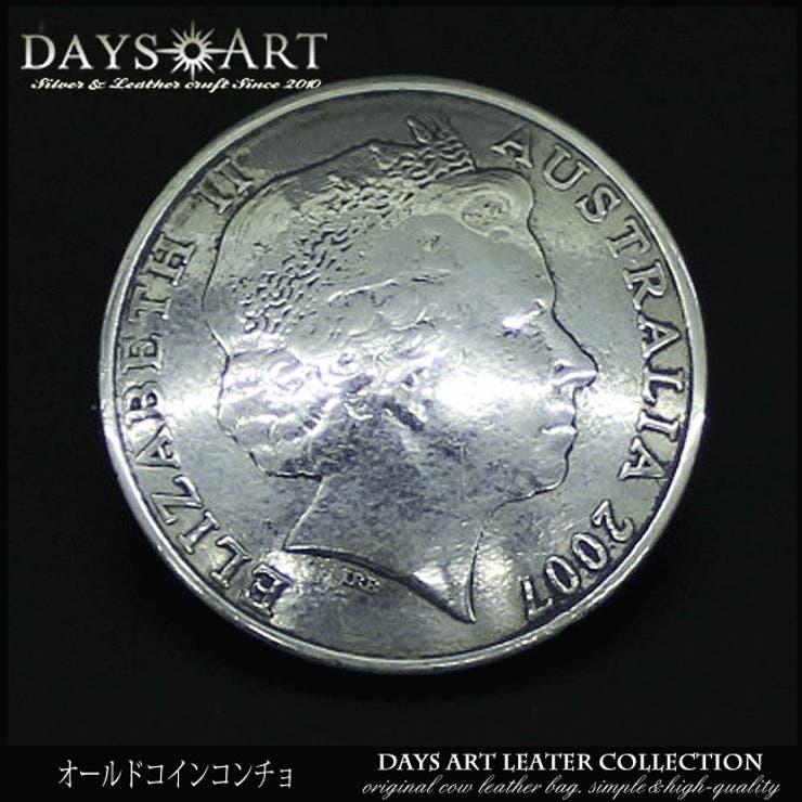 ■cc023■コンチョ オールドコイン オーストラリア硬貨 コインコンチョ