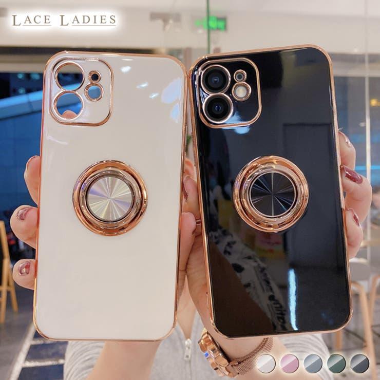 薄型 iPhone12 ケース | レースレディース  | 詳細画像1