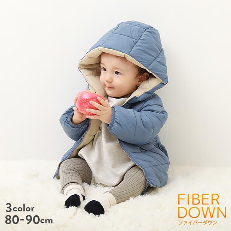 ベビー リバーシブルファイバーダウン 子供服 | devirock | 詳細画像1
