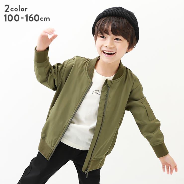 ライトMA-1ジャケット 子供服 キッズ 男の子 女の子 アウター・ジャケット | devirock | 詳細画像1