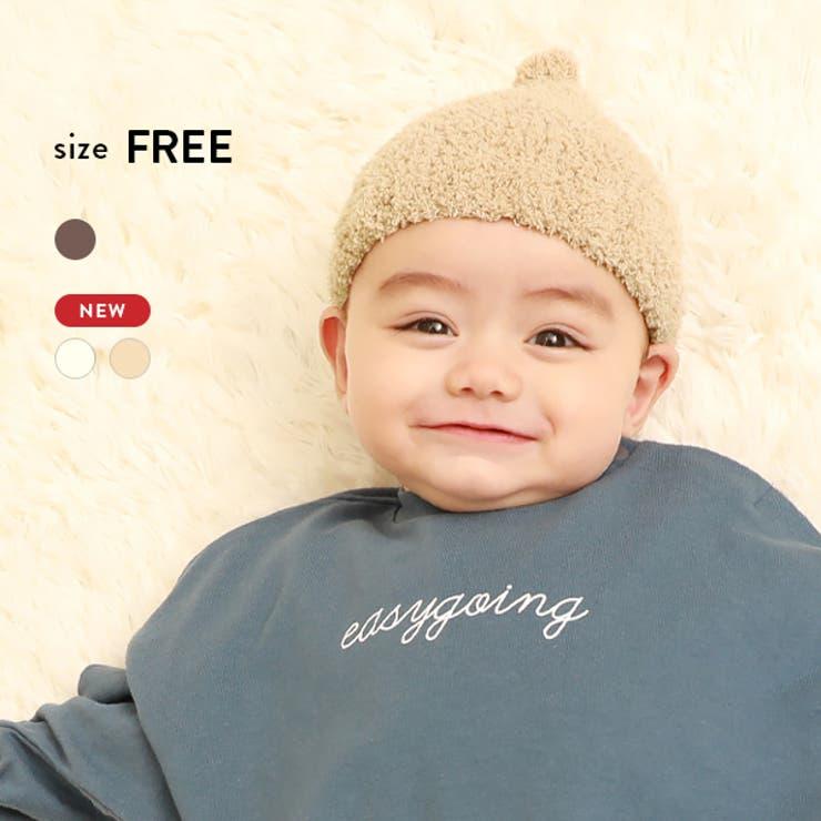 ベビー とんがりニット帽 子供服 キッズ 男の子 女の子 帽子   devirock   詳細画像1