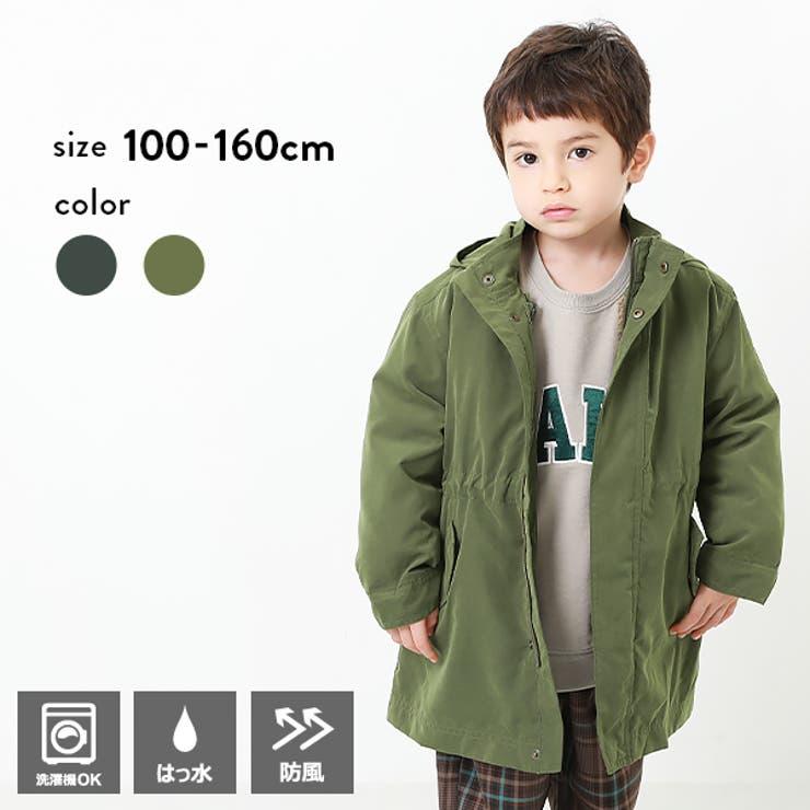 4WAYミリタリーコート 子供服 キッズ 男の子 女の子 アウター ジャケット | devirock | 詳細画像1