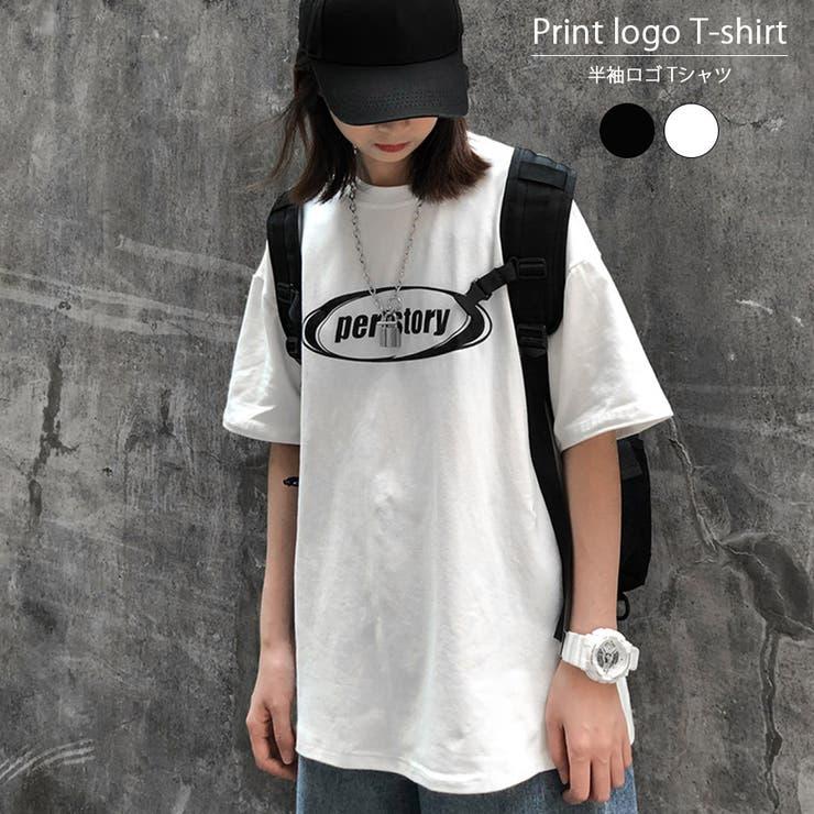 半袖Tシャツ 体型カバー トップス | インナーショップDiamondHearts  | 詳細画像1