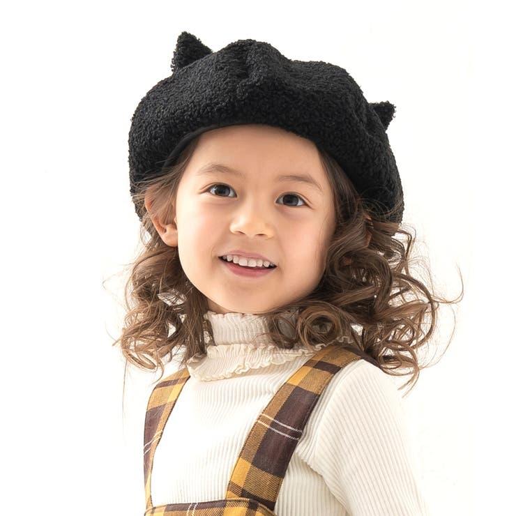 ねこ耳ベレー帽 | DILash BABY & KIDS SHOP | 詳細画像1