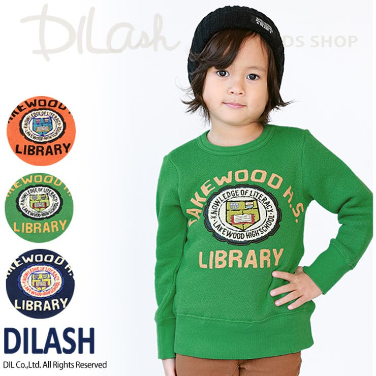 ジャンボ裏毛アメカジトレーナー/DILASH(ディラッシュ)冬 トレーナー