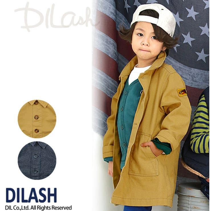 ステンカラーロングコート/DILASH(ディラッシュ)秋 ベビー キッズ 男の子