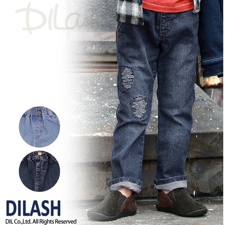 デニムワークパンツ★カタログ掲載商品★/DILASH(ディラッシュ)秋 ベビー キッズ 男の子