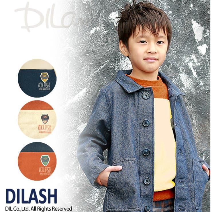 ヨーク切替えブークレートレーナー★カタログ掲載商品★/DILASH(ディラッシュ)秋 ベビー キッズ 男の子