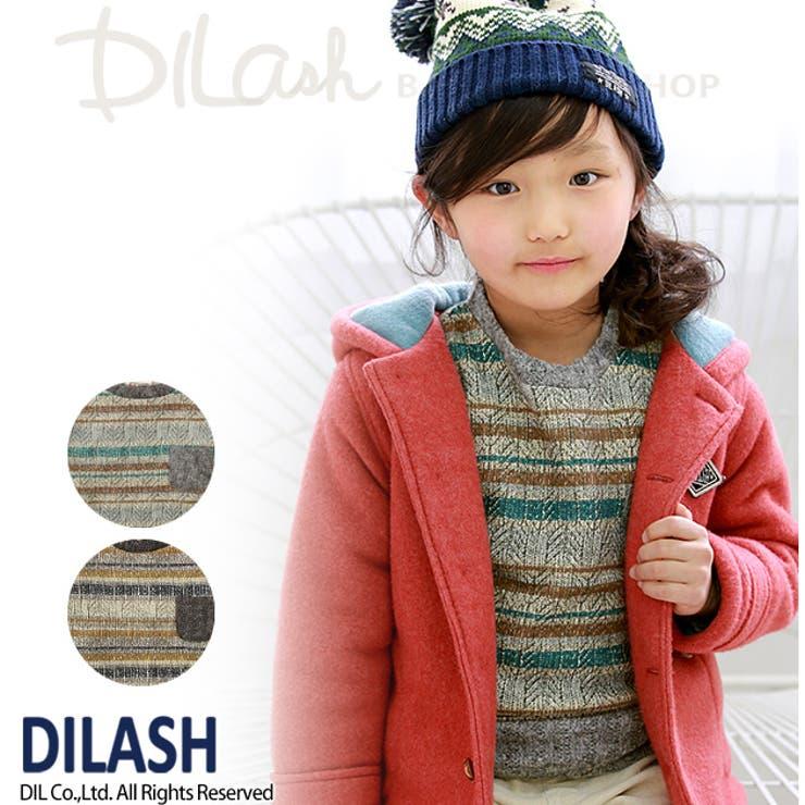 ケーブルニットトレーナー★カタログ掲載商品★/DILASH(ディラッシュ)秋 ベビー キッズ 男の子