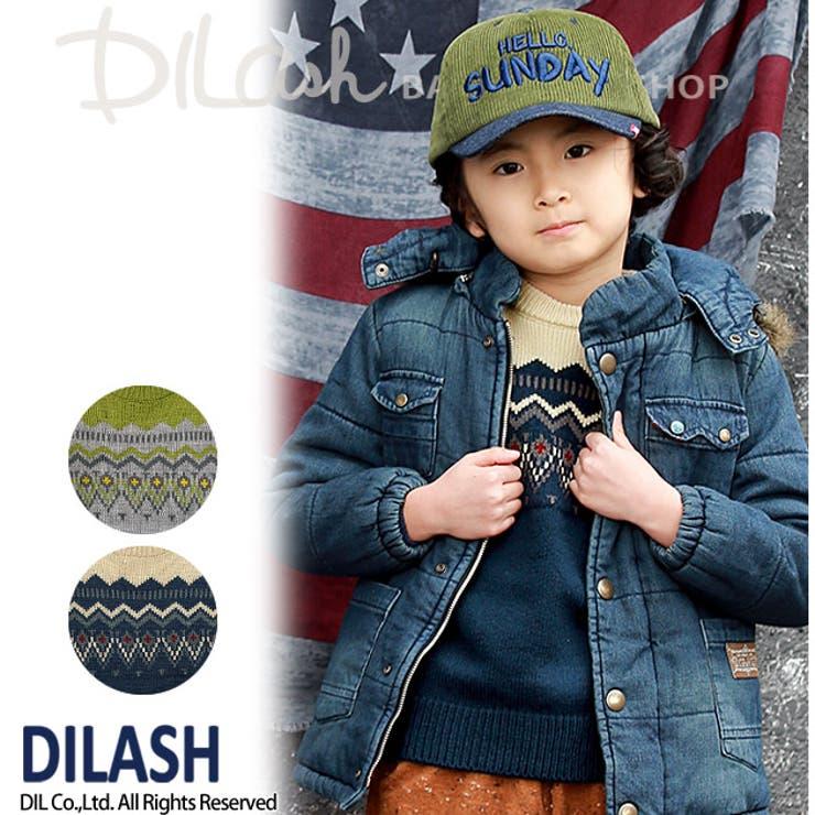 ニットセーター★カタログ掲載商品★/DILASH(ディラッシュ)秋 ベビー キッズ 男の子