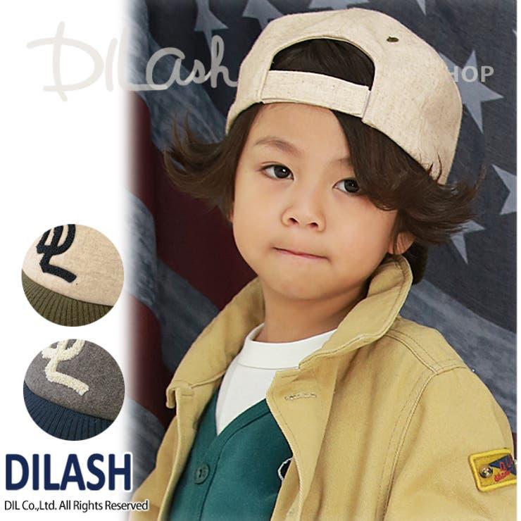 ツイードキャップ★カタログ掲載商品★/DILASH(ディラッシュ)秋 キッズ 男の子