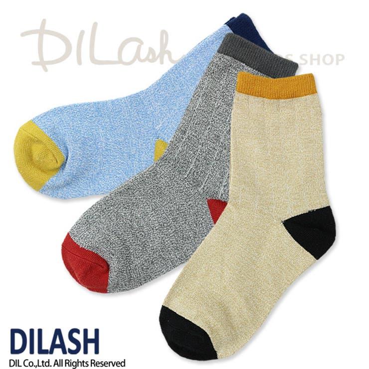 クルーソックス(MIX)/DILASH(ディラッシュ)秋/靴下