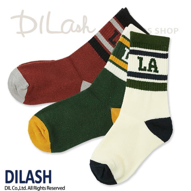 クルーソックス(LA)/DILASH(ディラッシュ)秋/靴下