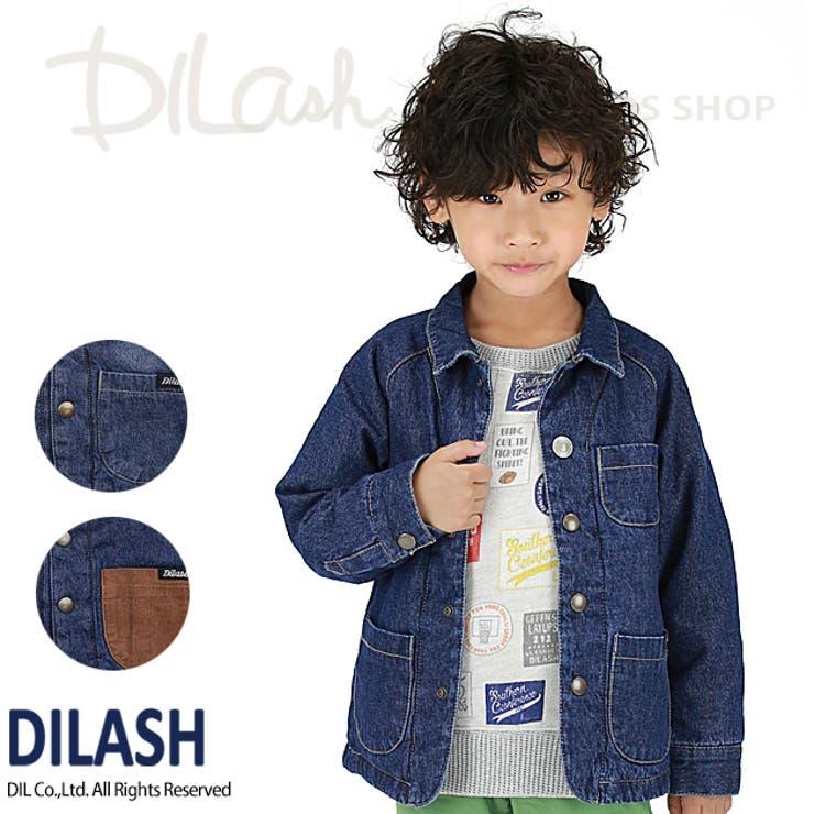 デニム中綿入りジャケット/DILASH(ディラッシュ)冬 アウター