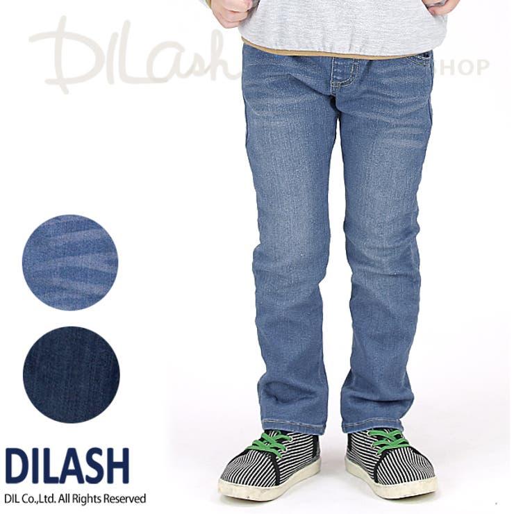 ハイパーストレッチデニムパンツ/DILASH(ディラッシュ) パンツ ストレッチ