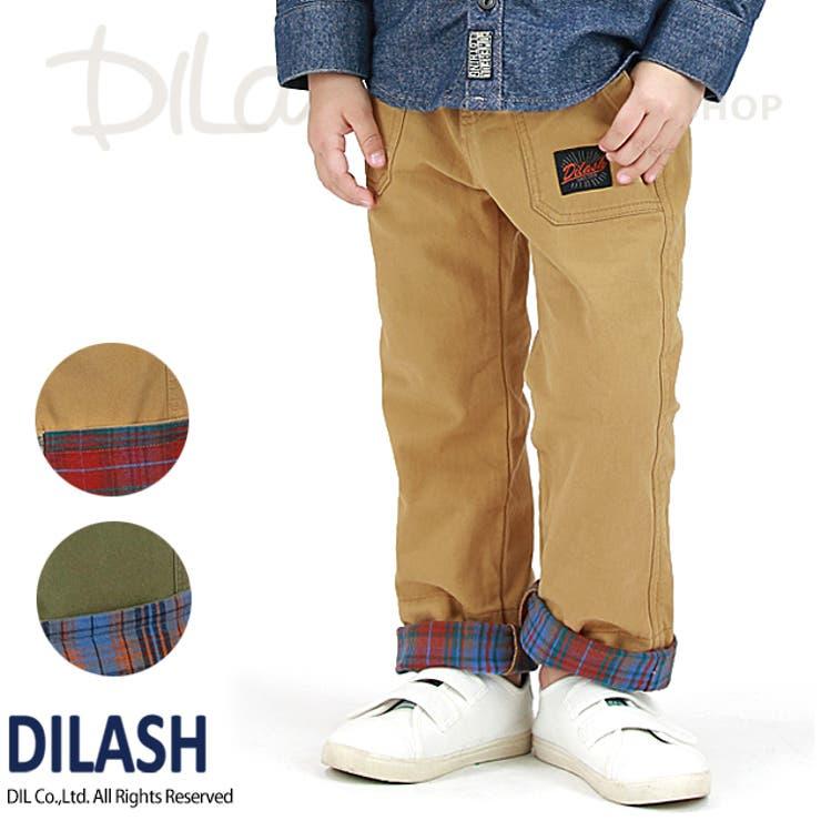 ワークワイドチノパンツ/DILASH(ディラッシュ)冬 起毛 パンツ
